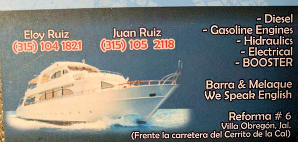 Boat Mechanics in Barra de Navidad, MX copy