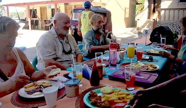 feast at Isla Tigre, Gulf of Fonseca, Honduras. copy