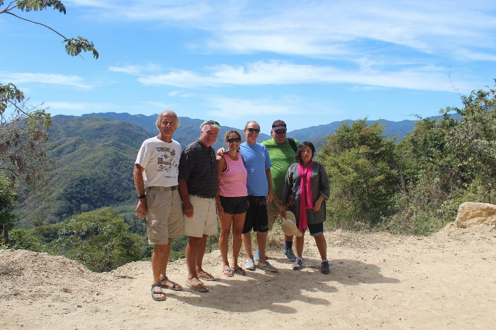 The             Panama Posse amigos on the Huatulco water falls trip             yesterday. —