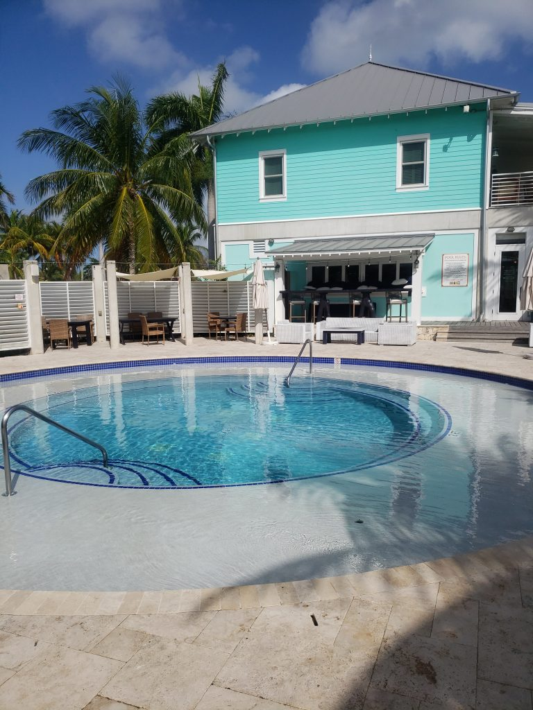 The Pool at the Bacadere Marina - Cayman Islands - Sponsors the Panama Posse