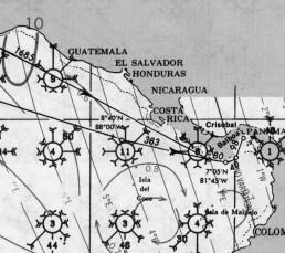 COSTA RICA PACIFIC PILOT CHARTSCOSTA RICA PACIFIC PILOT CHARTS
