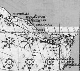 PANAMA PACIFIC PILOT CHARTS