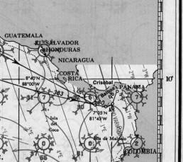 COSTA RICA PACIFIC PILOT CHARTS