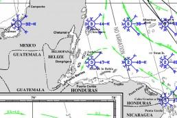 GUATAEMALA CARIBBEAN PILOT CHARTS