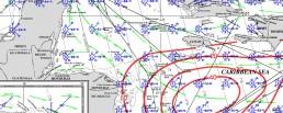PILOT CHARTS HONDURAS JULY