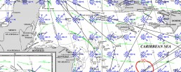 PILOT CHARTS HONDURAS OCTOBER