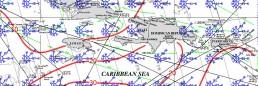 JAMAICA PILOT CHART JANUARY