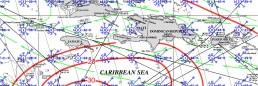 JAMAICA PILOT CHART FEBRUARY