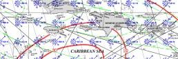 JAMAICA PILOT CHART MARCH