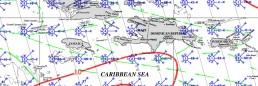 JAMAICA PILOT CHART APRIL