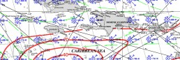 JAMAICA PILOT CHART JULY