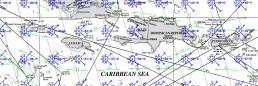JAMAICA PILOT CHART OCTOBER