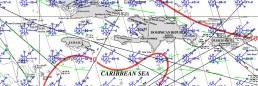 JAMAICA PILOT CHART DECEMEBR