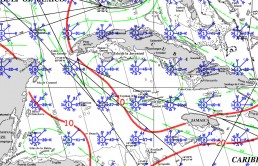 CAYMAN ISLANDS PILOT CHARTS JANUARY
