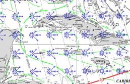 CAYMAN ISLANDS PILOT CHARTS APRIL