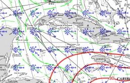 CAYMAN ISLANDS PILOT CHARTS JUNE
