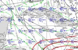 CAYMAN ISLANDS PILOT CHARTS JULY