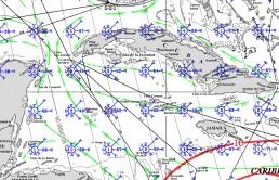 CAYMAN ISLANDS PILOT CHARTS AUGUST