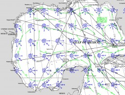 PILOT CHARTS MEXICO CARIBBEAN