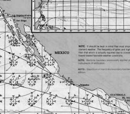 MEXICO PACIFIC PILOT CHARTS