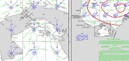 PANAMA CANAL AND PANAMA CARIBBEAN PILOT CHARTS