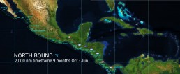 PANAMA POSSE SOUTH BOUND PACIFIC ROUTE >>