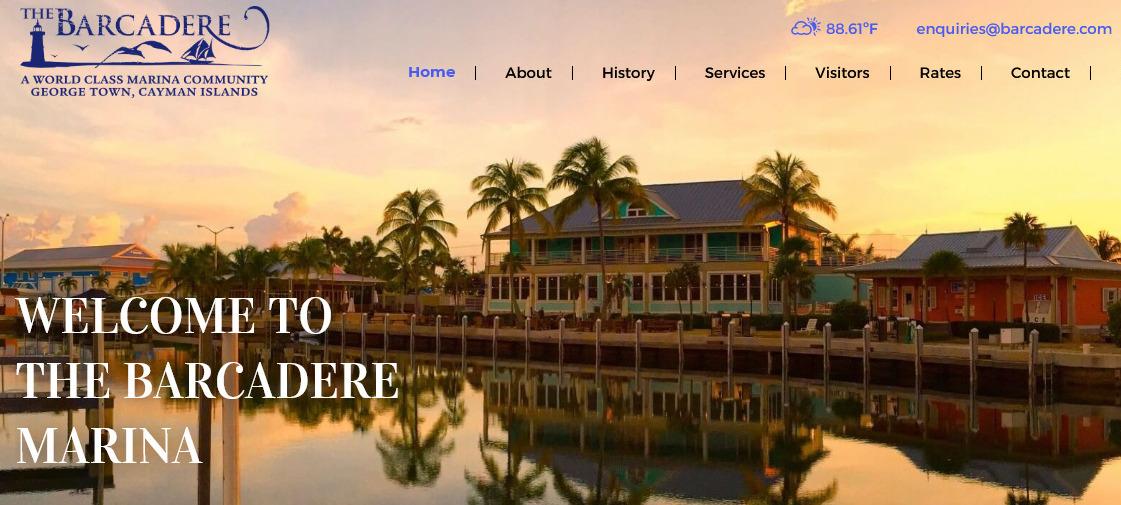 Barcadere Website