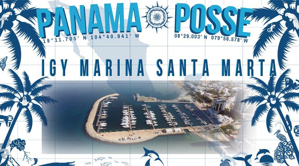 IGY MARINA SANTA MARTA SPONSORS THE PANAMA POSSE