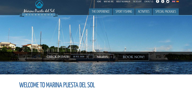 Marina Puesta del Sol Nicaragua _