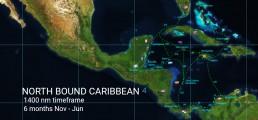 CARIBBEAN PANAMA POSSE NORTH BOUND ROUTE