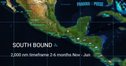 PANAMA POSSE SOUTH BOUND PACIFIC ROUTE