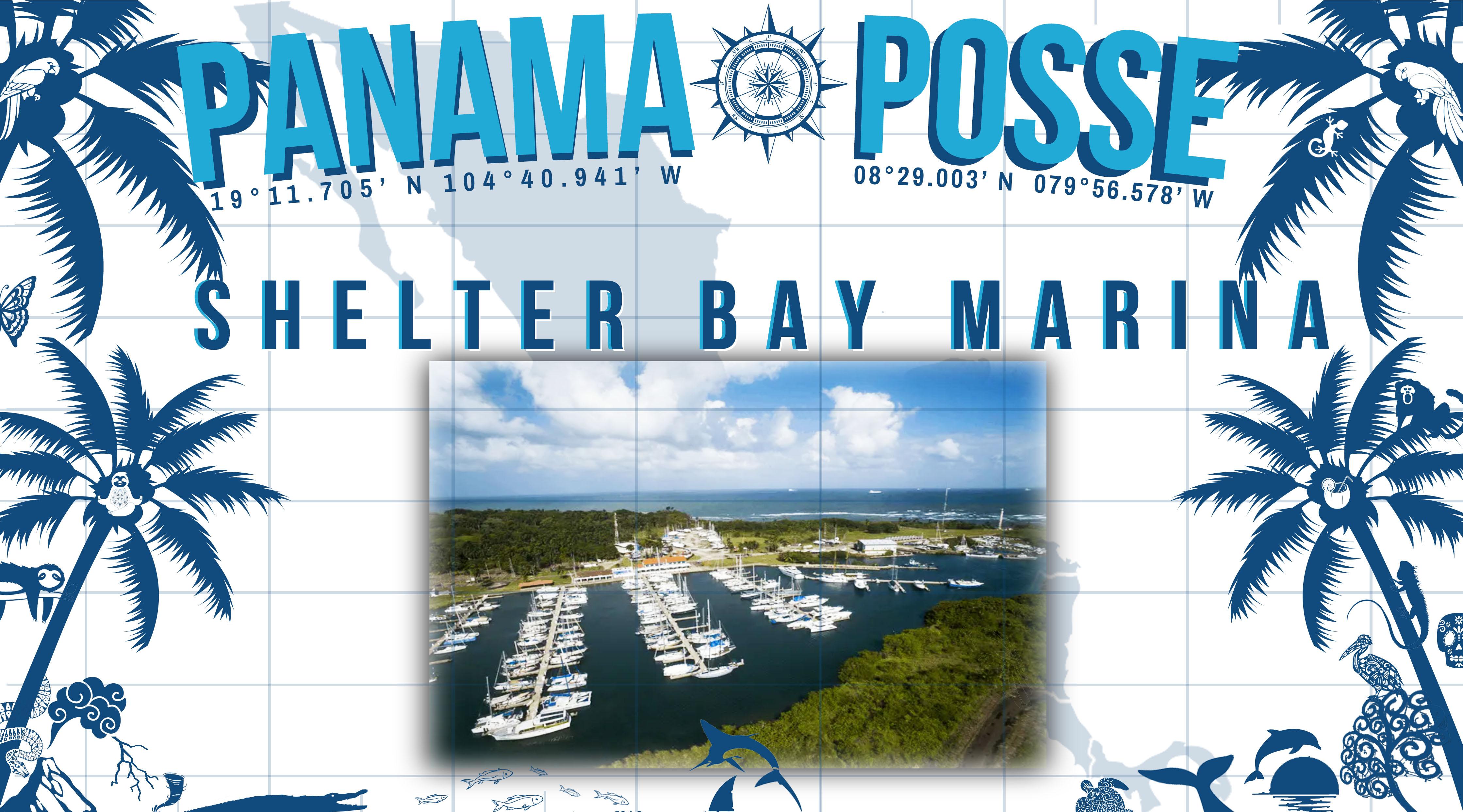 "SHELTER BAY MARINA PANAMA ""SPONSORS THE PANAMA POSSE 20·21"