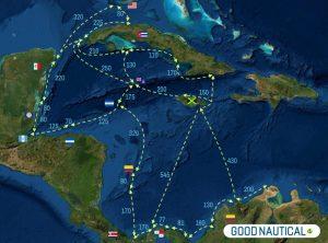 PANAMA POSSE WESTERN ROUTE SEGMENTS