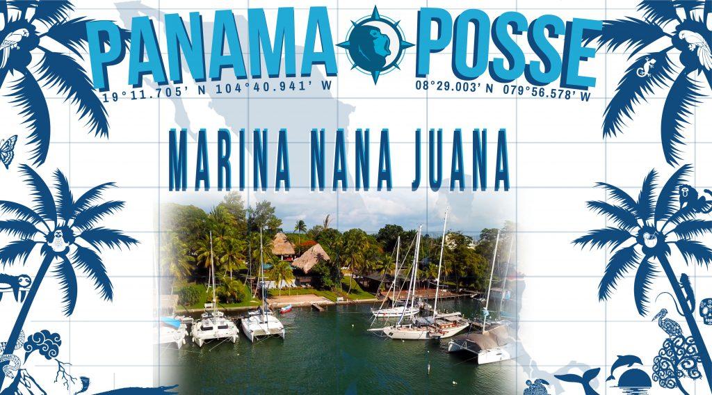 MARINA NANA JUANA RIO DULCE SPOSNORS THE PANAMA POSSE