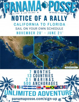 PANAMA POSSE NOTICE OF A RALLY