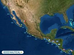 PANAMA POSSE PACIFIC ROUTE SEGMENTS