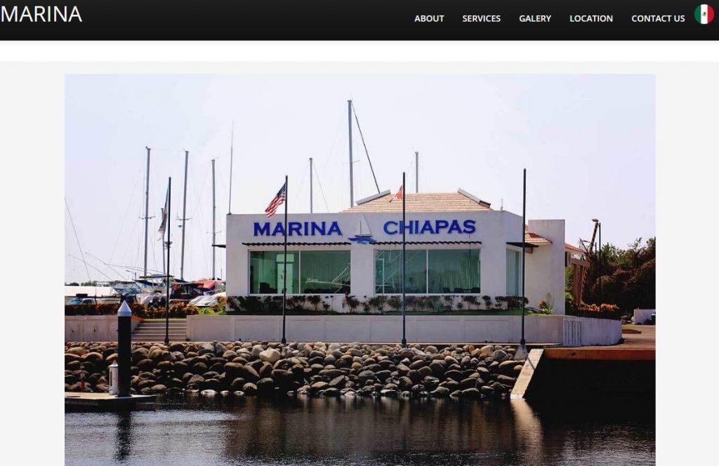MARINA CHIAPAS WEBSITE