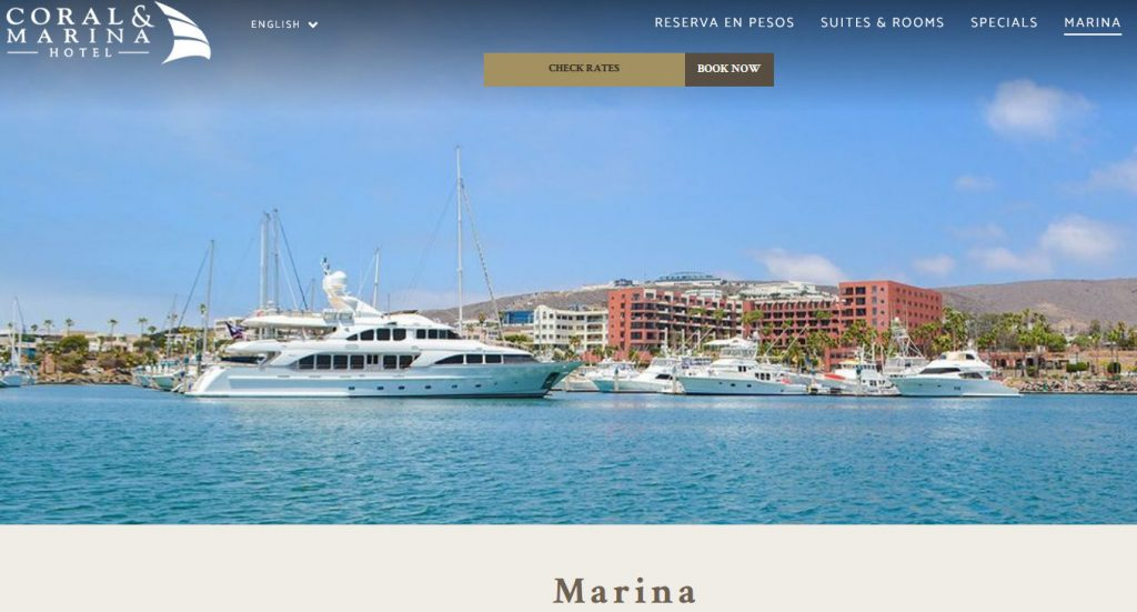 Website Marina Coral
