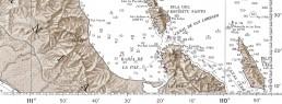Marina de la Paz Safe Approach Chart