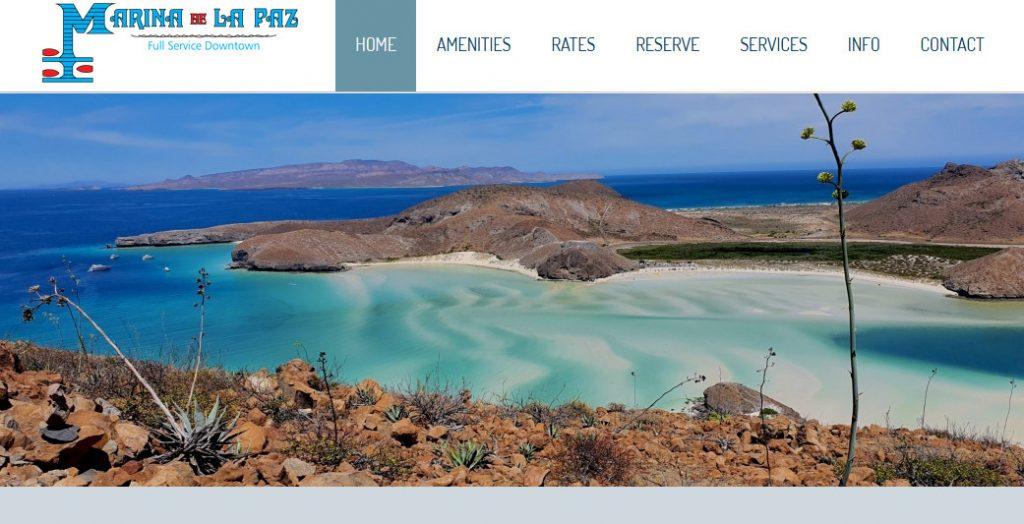 Marina de la Paz official website