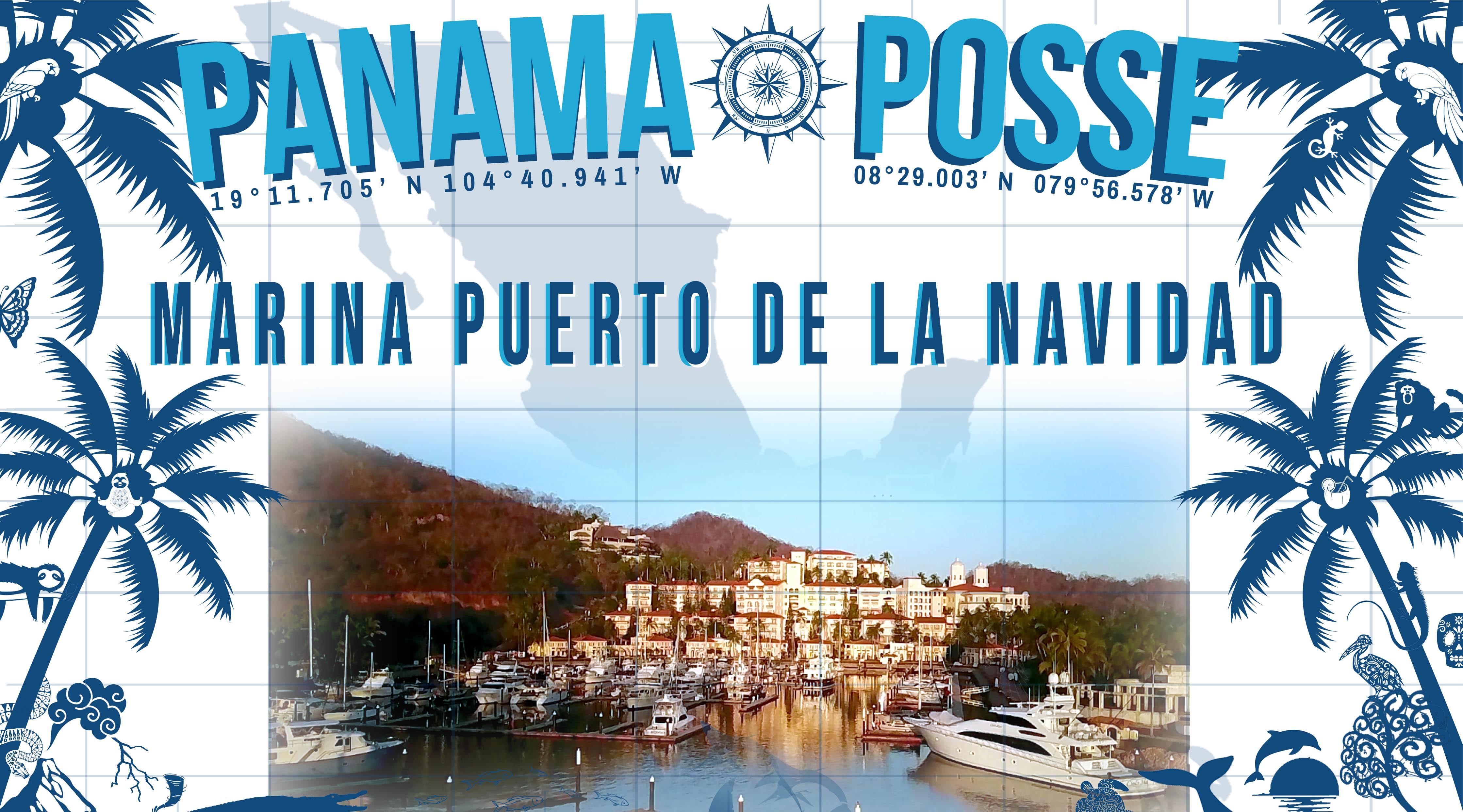 Marina Puerto de la Navidad - Barra de Navidad sponsors the Panama Posse