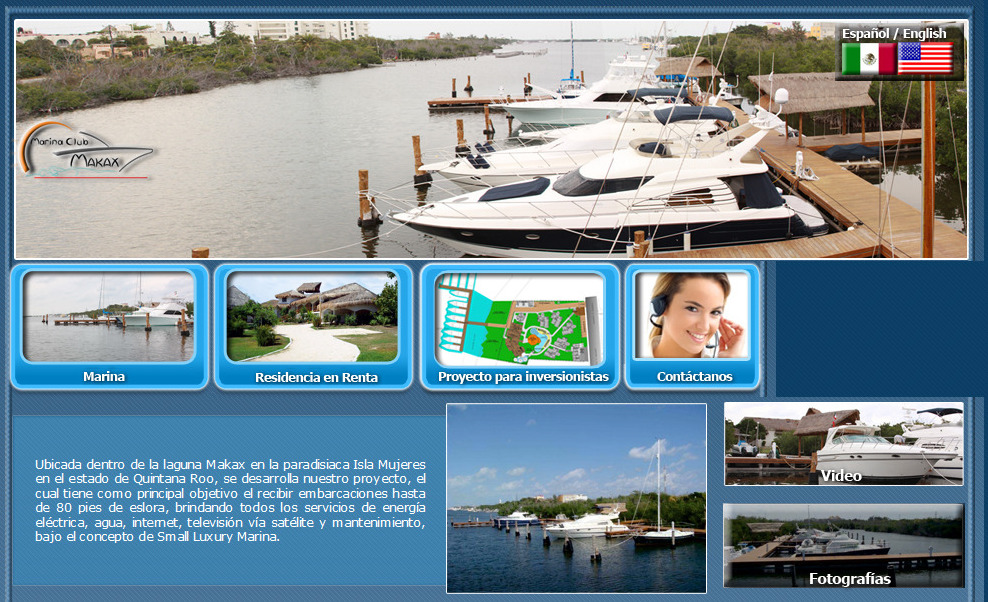 Marina Makax Website