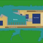 Thunderbirds Marina Map