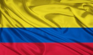 Current flag of Colombia