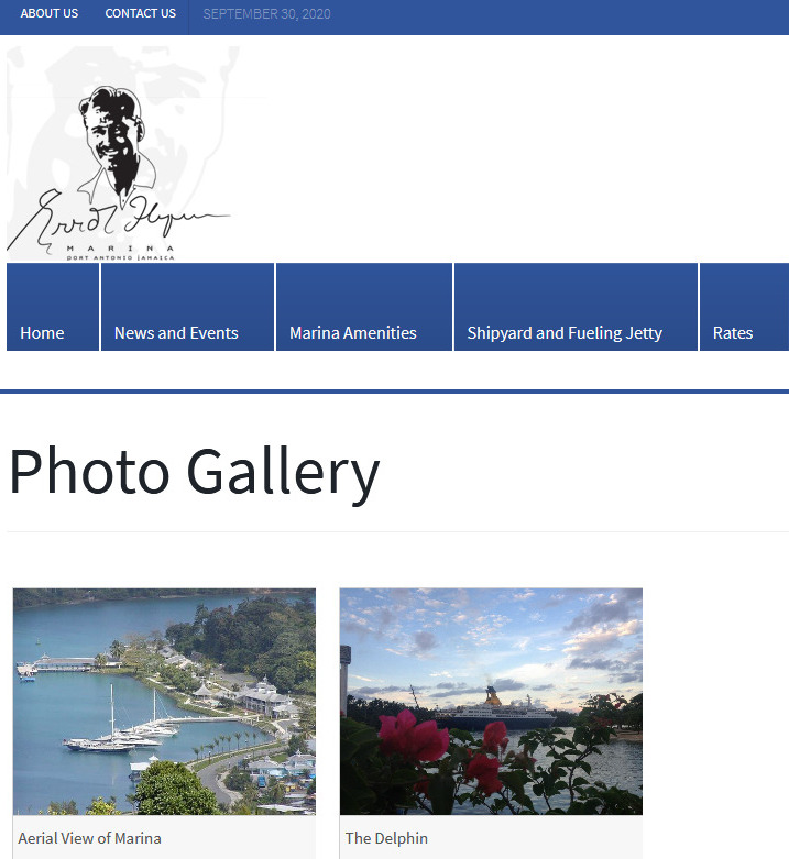 Errol Flynn Marina Official Website