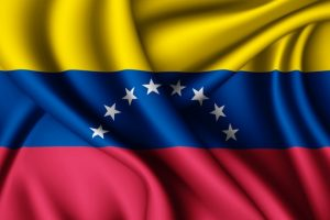 Current flag of VENEZUELA