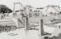 Yaxchilan Bridge -Rendering