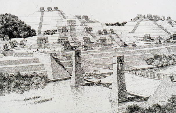 Yaxchilan Bridge -Rendering