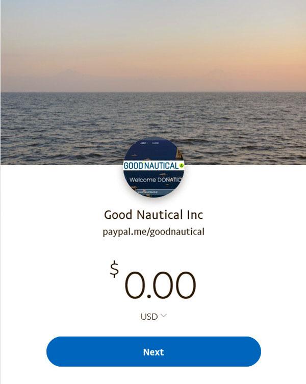 https://www.paypal.me/goodnautical