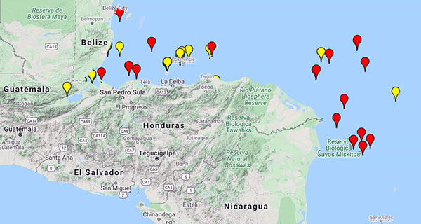 PANAMA POSSE PIRATE AREAS